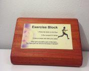 Excersize Block